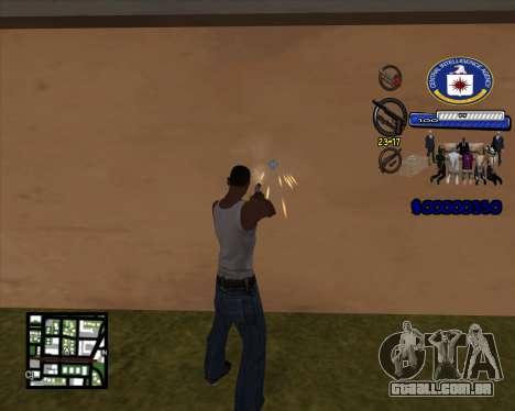 C-HUD C.I.A para GTA San Andreas segunda tela