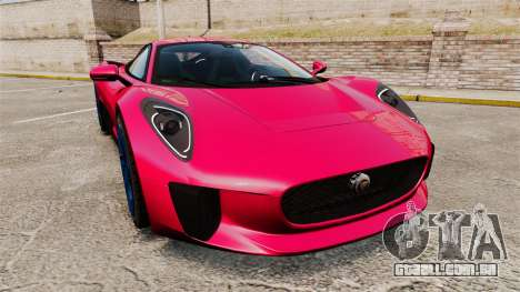 Jaguar C-X75 [EPM] para GTA 4
