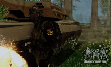 Kopassus Skin 2 para GTA San Andreas por diante tela