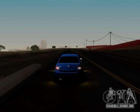 Skoda Octavia A7 para GTA San Andreas interior