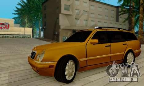 Mercedes-Benz E320 Wagon para GTA San Andreas vista traseira