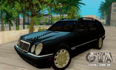 Mercedes-Benz E320 Wagon para GTA San Andreas esquerda vista