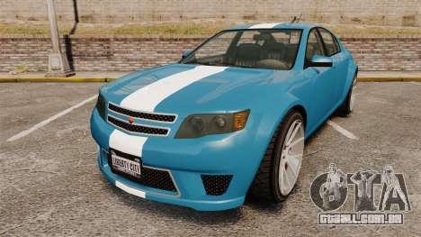GTA V Cheval Fugitive new wheels para GTA 4