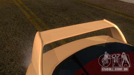 Honda Integra Type R para GTA San Andreas vista direita