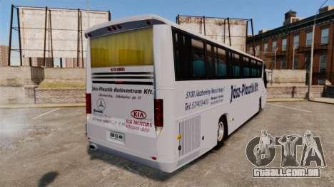COMIL Campione 3.45 SCANIA K310 para GTA 4 traseira esquerda vista