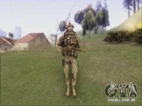 US Army Skin para GTA San Andreas