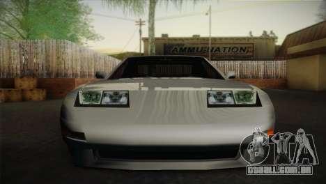 New Euros V1 para GTA San Andreas traseira esquerda vista