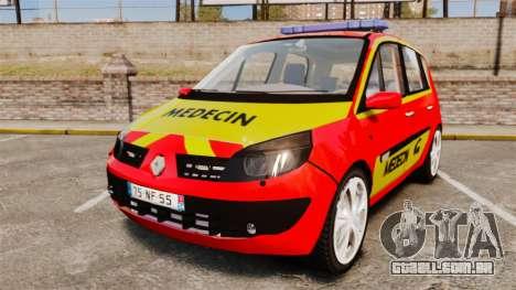 Renault Scenic Medicin v2.0 [ELS] para GTA 4