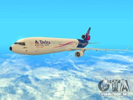 McDonnell Douglas MD-11 Delta Airlines para GTA San Andreas