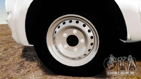 Toyota Hilux 2014 para GTA 4 vista de volta