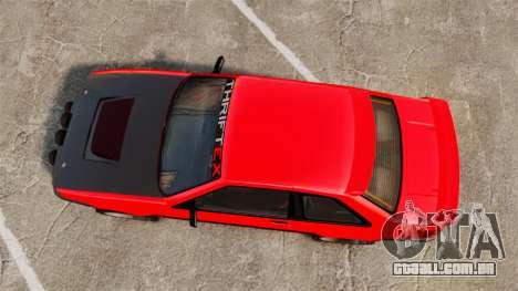 Futo RS para GTA 4 vista direita