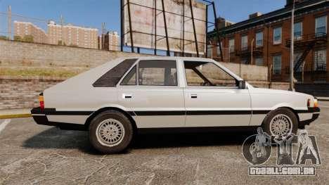 FSO Polonez 1500 para GTA 4 esquerda vista