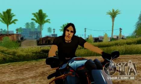 Glenn Danzig Skin para GTA San Andreas por diante tela