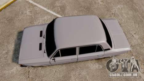 VAZ-2106 Zhiguli BUNKER para GTA 4 vista direita