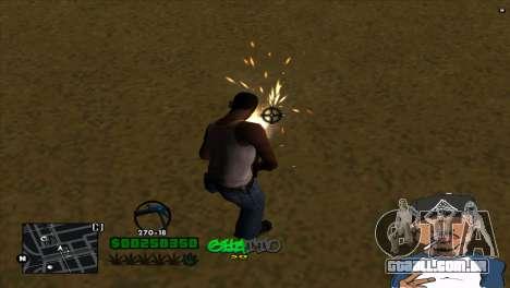 C-HUD By Markus para GTA San Andreas terceira tela