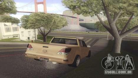 Mazda BT-50 Pro para GTA San Andreas vista direita