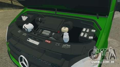 Mercedes-Benz Sprinter 2500 2011 Hungarian Post para GTA 4 vista de volta