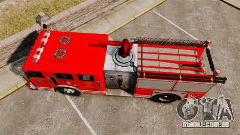 Fire Truck v1.4A LSFD [ELS] para GTA 4 vista direita