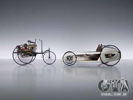 Arranque telas Mercedes-Benz F-CELL Roadster para GTA 4 quinto tela