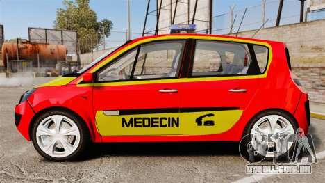 Renault Scenic Medicin v2.0 [ELS] para GTA 4 esquerda vista