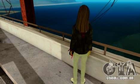 Kim Kameron para GTA San Andreas segunda tela