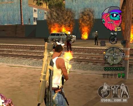 C-HUD Lion para GTA San Andreas segunda tela