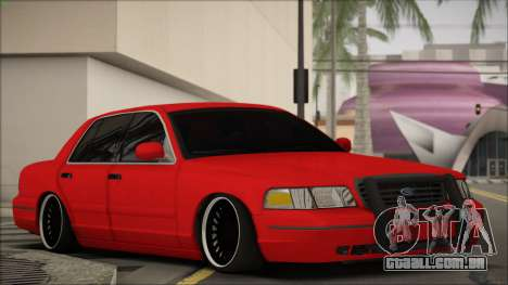 Ford Crown Victoria para GTA San Andreas esquerda vista