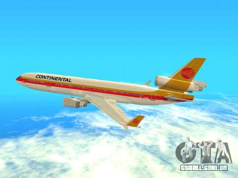 McDonnell Douglas MD-11 Continental Airlines para GTA San Andreas
