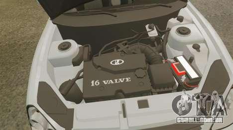 ВАЗ-Lada 2170 Priora v2.0 para GTA 4 vista de volta