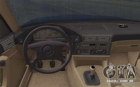 BMW M5 E34 1994 NA-spec para GTA San Andreas vista direita