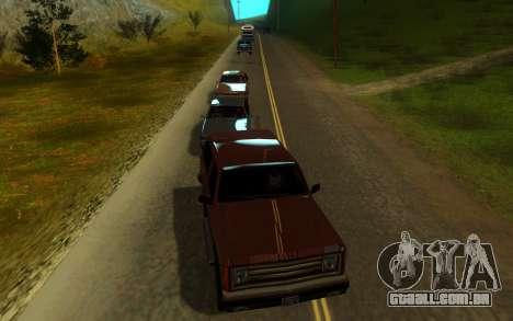 Sweet ENB Next Generation para GTA San Andreas quinto tela