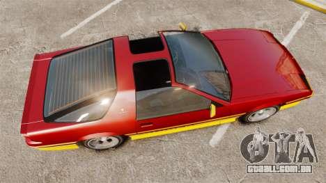 Imponte Ruiner new wheels para GTA 4 vista direita