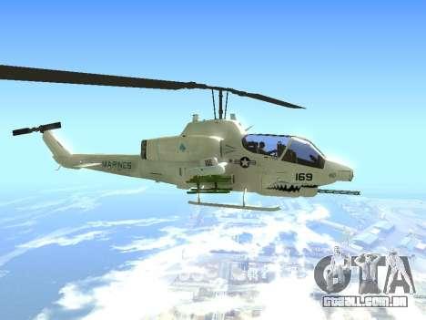 AH-1W Super Cobra para GTA San Andreas