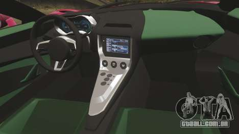 Jaguar C-X75 [EPM] para GTA 4 vista lateral