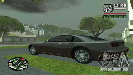 Weather Menu para GTA San Andreas terceira tela