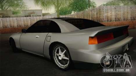 New Euros V1 para GTA San Andreas esquerda vista