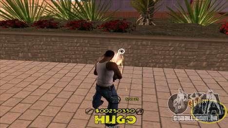 C-HUD Vagos by Hugo para GTA San Andreas terceira tela