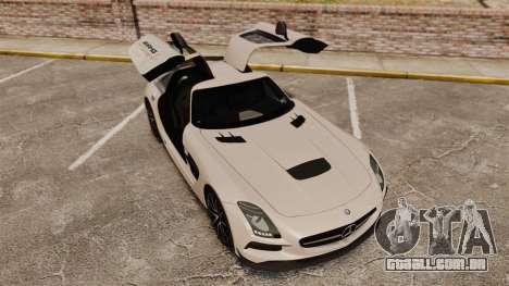 Mercedes-Benz SLS 2014 AMG Driving Academy v1.0 para GTA 4 vista superior