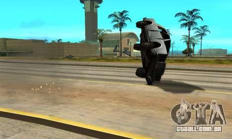 Sombras no estilo de RAIVA para GTA San Andreas sexta tela