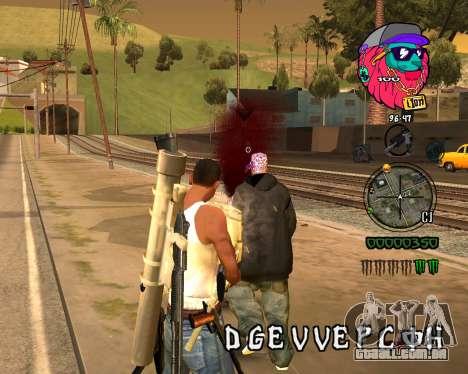 C-HUD Lion para GTA San Andreas