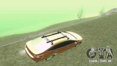 Ford Focus Sedan Hellaflush para GTA San Andreas vista interior