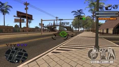 C-HUD Light para GTA San Andreas sexta tela