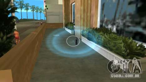 Captadores, bombas de fumaça para GTA Vice City segunda tela