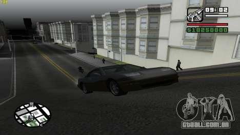 Weather Menu para GTA San Andreas segunda tela