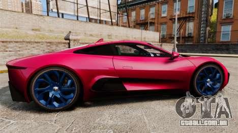 Jaguar C-X75 [EPM] para GTA 4 esquerda vista