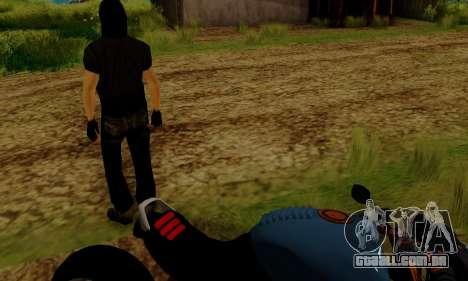 Glenn Danzig Skin para GTA San Andreas sexta tela