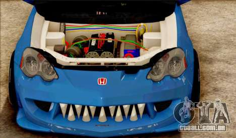 Honda Integra Mugen Type R para GTA San Andreas esquerda vista