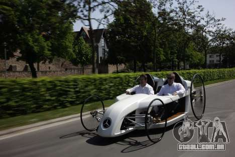 Arranque telas Mercedes-Benz F-CELL Roadster para GTA 4 nono tela