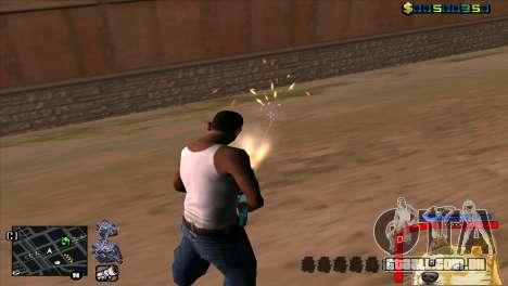 C-HUD Cão WOW para GTA San Andreas terceira tela