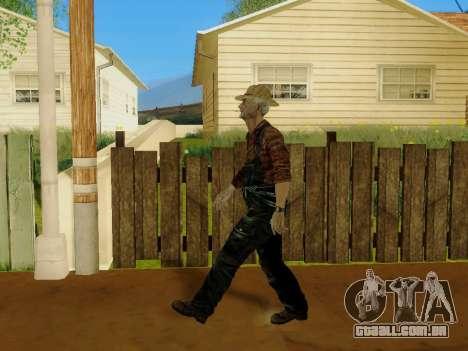 Agricultor ou alterada e completada para GTA San Andreas décimo tela